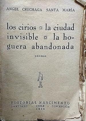 Los cirios ; la ciudad invisible; la: Cruchaga Santa María,