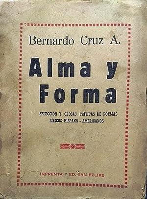 Alma y forma: Cruz Adler, Bernardo (Compilador)