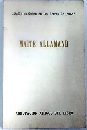 Quien soy?: Allamand, Maité (1911