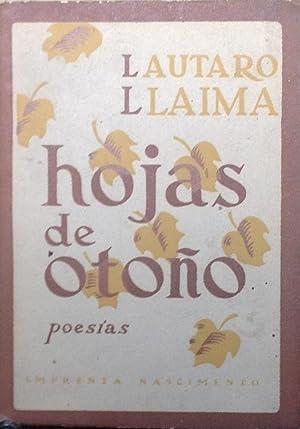Hojas de otoño: Llaima, Lautaro (1900