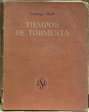 Tiempos de tormenta. En el remate de un viejo palacio santiaguino: Melfi, Domingo (1891 - 1946)
