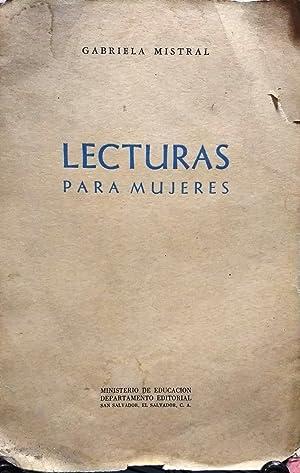 Lecturas para mujeres: Mistral, Gabriela (1889