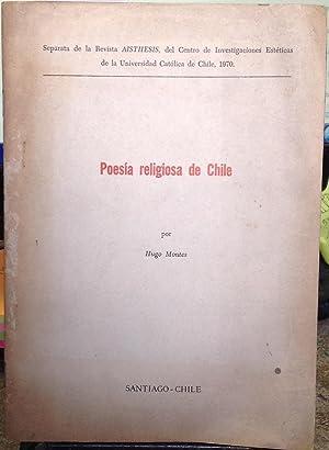 Poesía religiosa de Chile: Montes, Hugo (1926