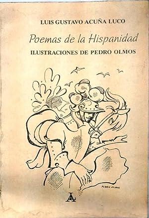 Poemas de la hispanidad. Ilustraciones de Pedro: Acuña Luco, Luis