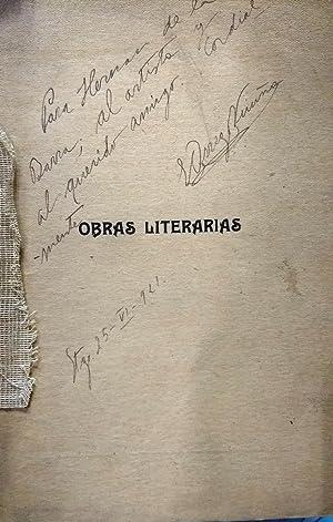 Obras literarias: teatro, verso, prosa: Orrego Vicuña, Benjamín (1897 - 1921)