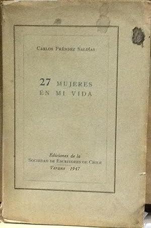 27 mujeres en mi vida: Préndez Saldías, Carlos