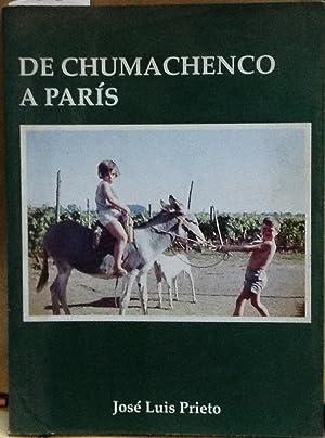 De Chumachenco a París: Prieto Lorca, José Luis (1957 - )