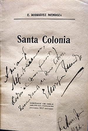 Santa Colonia: Rodríguez Mendoza, Emilio (1875 - 1960)