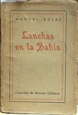 Lanchas en la bahía: Rojas, Manuel (1896 - 1973)