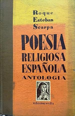 Poesía religiosa española. Antología: Scarpa, Roque Esteban