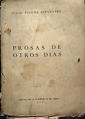 Prosas de otros días: Vicuña Cifuentes, Julio (1865 - 1936)