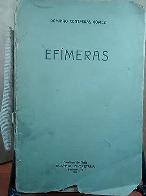 Efímeras: Contreras Gómez, Domingo (1876 - )
