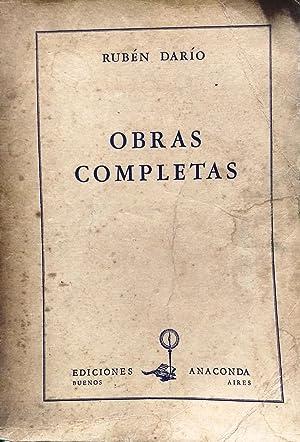 Obras completas: Darío, Rubén (1867