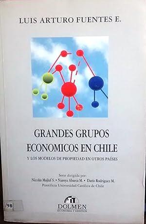 Grandes grupos económicos en Chile y los: Fuentes E., Luis