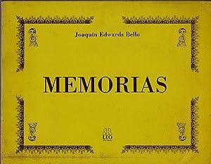 Memorias: Edwards Bello, Joaquín