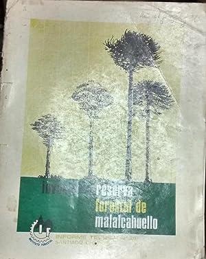 Inventario Reserva Forestal de Malalcahuello. Informe técnico: Ortega Segura, Jorge