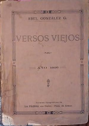 Versos viejos: González G., Abel