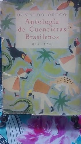 Antología de cuentistas brasileños. Portada de Coré: Orico, Osvaldo (