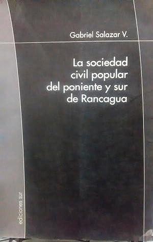 La sociedad civil popular del poniente y: Salazar V., Gabriel