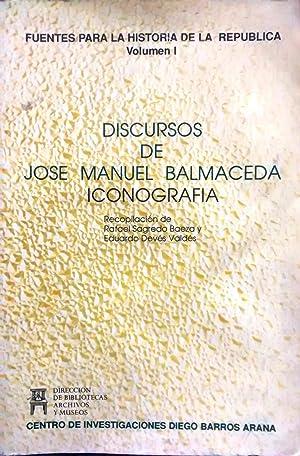 Discursos de Jose Manuel Balmaceda. Iconografía. 3: Balmaceda, José Manuel