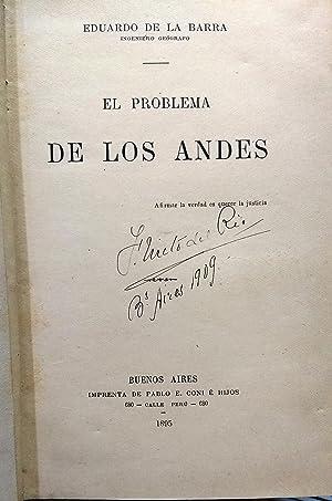 El problema de los Andes: Barra, Eduardo de la ( 1839 - 1900 )