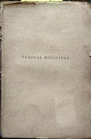 Páginas escogidas. Selección y estudio de Eugenio: Orrego Vicuña, Benjamín