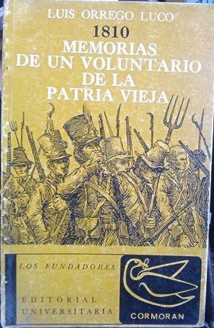 1810 : Memorias de un voluntario de: Orrego Luco, Luis