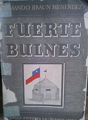 Fuerte Bulnes. Historia de la ocupación del: Braun Menéndez, Armando