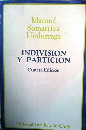 Indivisión y partición: Somarriva Undurraga, Manuel
