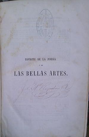 Espíritu de la poesía y de las Bellas Artes o teoría de la belleza: Tissandier, J.B.
