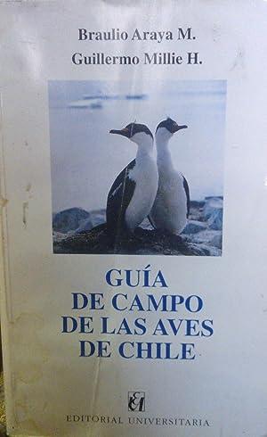 Guía de campo de las aves de: Araya M., Braulio