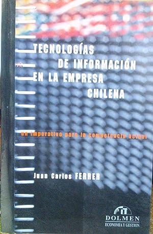 Incorporación de tecnologías de información en la: Ferrer, Juan Carlos