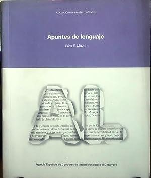Apuntes de lenguaje. Prólogo Daniel Samper Pizano: Muvdi, Elías E.