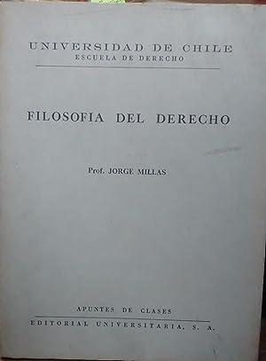Filosofía del Derecho: Millas, Jorge (