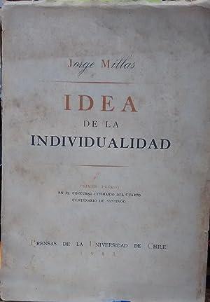 Idea de la individualidad: Millas, Jorge (