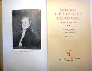 Églogas y fábulas castellanas. 2 tomos (Tomo I: Siglos XVI y XVII; Tomo II: Siglos XVII, XVIII y ...