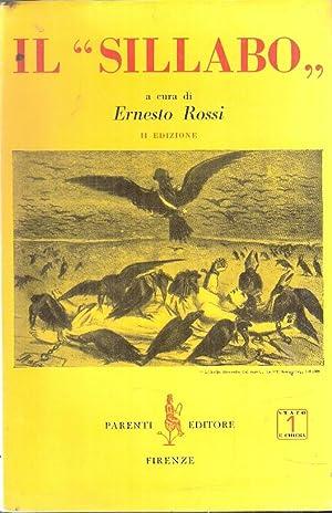 """IL """"SILLABO"""": ROSSI ERNESTO (A"""