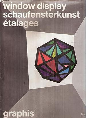 WINDOW DISPLAY SCHAUFENSTERKUNST L'ART DE L'ETALAGE VOL.: HERDEG WALTER