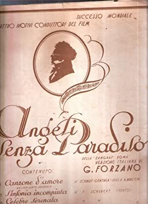 ANGELI SENZA PARADISO - I QUATTRO MOTIVI: FORZANO G. (VERSIONE