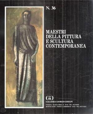 MAESTRI DELLA PITTURA E SCULTURA CONTEMPORANEA N.: AA.VV.