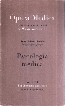 PSICOLOGIA MEDICA N. 111: SAMALE LIBERO