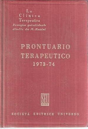 PRONTUARIO TERAPEUTICO 1973-74: DE MARTIIS MICHELE