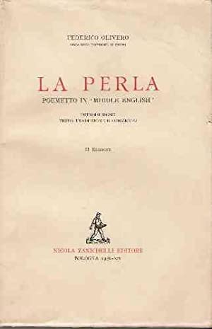 LA PERLA - POEMETTO IN
