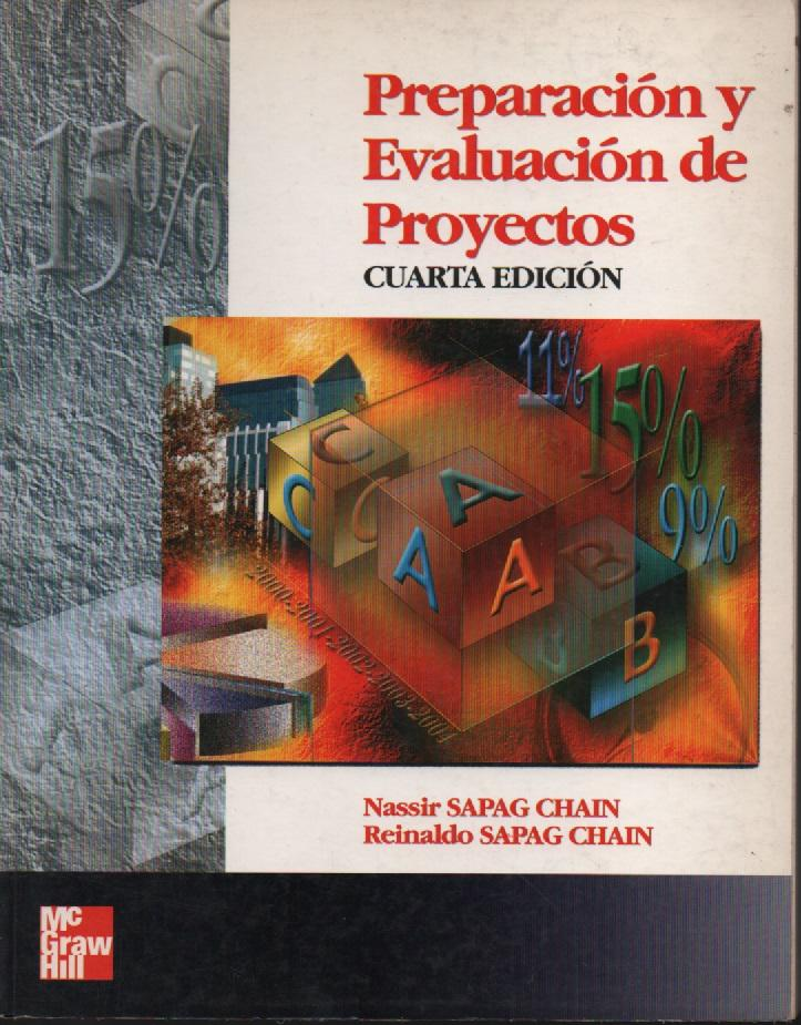 libro preparacion y evaluacion de proyectos sapag quinta edicion