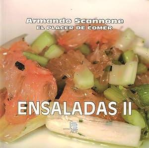 ENSALADAS 2 EL PLACER DE COMER: ARMANDO SCANNONE