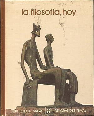 LA FILOSOFIA, HOY: EMILIO LLEDO INIGO