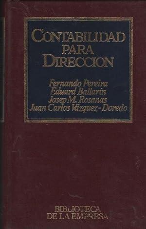 CONTABILIDAD PARA DIRECCION: FERNANDO PEREIRA, EDUARD