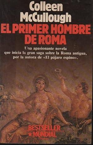 El primer hombre de Roma: Collen McCullough