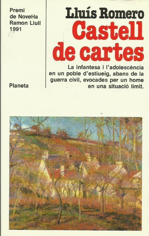 Resultat d'imatges de Castell de cartes lluis romero ramon llull