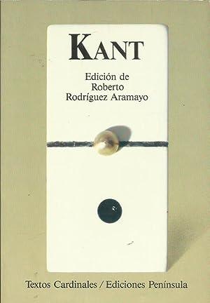 KANT Antología: Rodríguez Aramayo,Roberto